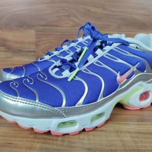 🆕️Nike Air Max Plus Ultraman Women's Size 6.5 Blu